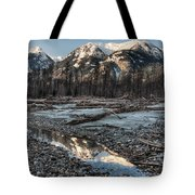Downed Trees Tote Bag