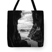 Downhill Cave Tote Bag