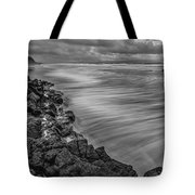 Downhill Waves Tote Bag