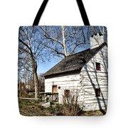 Downingtown Log House 1701 Tote Bag
