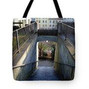 Downstairs Door Tote Bag