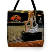 Downstairs Lobby Radio City Music Hall Tote Bag