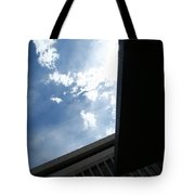 Downtown Abstract Tote Bag