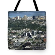 Downtown Anchorage Alaska Tote Bag
