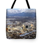 Downtown Anchorage Tote Bag