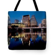 Downtown At Dusk Tote Bag
