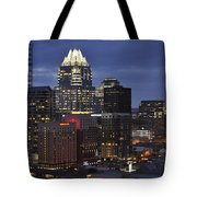 Downtown Austin 3 Tote Bag
