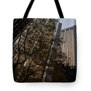 Downtown Autumn Tote Bag