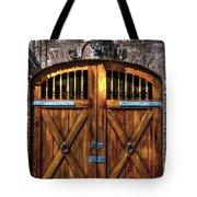 Downtown Charleston Sc Doors Tote Bag