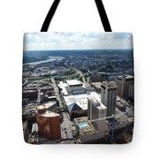 Downtown Cincinnati Form The Top Of Karew Tower Tote Bag