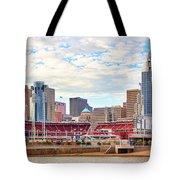Downtown Cincinnati 9885 Tote Bag