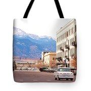 Downtown Colorado Springs  Colorado Tote Bag