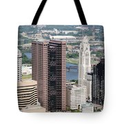 Downtown Columbus Tote Bag