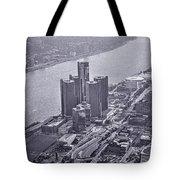 Downtown Detroit Tote Bag