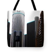 Downtown Detroit Through Joey's Eyes Tote Bag