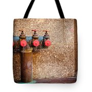 Downtown Extinguisher  Tote Bag