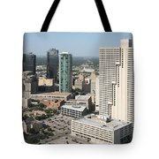 Downtown Fort Worth Skyline Tote Bag