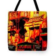 Downtown Heatwave  Tote Bag