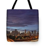 Downtown Houston After The Storm Tote Bag