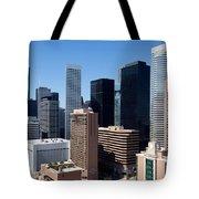 Downtown Houston Texas Tote Bag