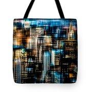 Downtown II - Dark Tote Bag by Hannes Cmarits