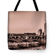 Downtown Indianapolis Tote Bag