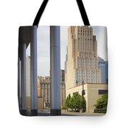 Downtown Kansas City Tote Bag by Mike McGlothlen