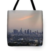 Downtown Los Angeles Tote Bag