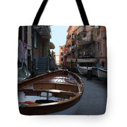 Downtown Manarola Tote Bag