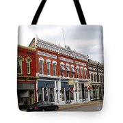 Downtown Manistee Michigan Tote Bag