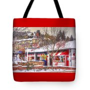 Patsy's Candies In Snow Tote Bag