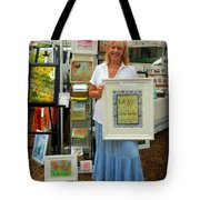 Downtown Marketplace Show Tote Bag