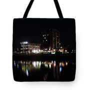 Downtown Morgantown From The Waterfront Tote Bag