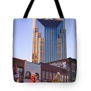 Downtown Nashville Tote Bag