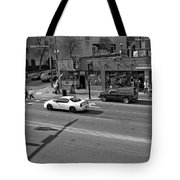 Downtown Nashville Legends Corner Tote Bag by Dan Sproul