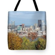 Downtown Pittsburgh From Mount Washington 4 Tote Bag