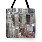 Downtown Pittsburgh From Mount Washington Tote Bag