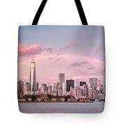 Downtown Rainbow Tote Bag