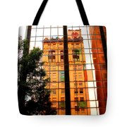 Downtown Reflection Tote Bag