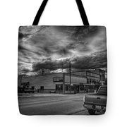 Downtown Sandpoint In Infrared 2 Tote Bag