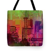 Downtown Seattle Cubed 1 Tote Bag