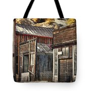 Downtown Silver Plume Tote Bag