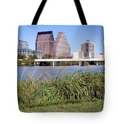 Downtown Skyline Of Austin Tote Bag