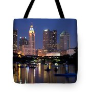Downtown Skyline Of Columbus Tote Bag