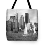 Downtown Skyline Of Toronto On Tote Bag