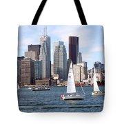 Downtown Skyline Of Toronto Ontario Tote Bag