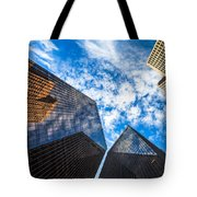 Downtown Skyscrapers Tote Bag
