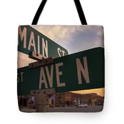 Downtown State Center Tote Bag