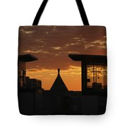 Downtown Sunrise Tote Bag