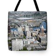 Downtown Tacoma Washington Tote Bag